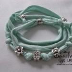 TUTORIAL: collana o braccialetto con fettuccia