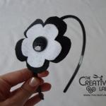 TUTORIAL: come creare un cerchietto con fiore in feltro