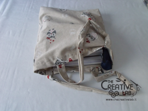 tutorial come fare borsa shopper 26