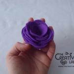 TUTORIAL: come fare dei fiori di stoffa