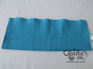 tutorial astuccio arrotolato roller pencil case 14