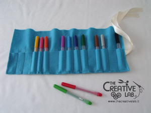 tutorial astuccio arrotolato roller pencil case 15