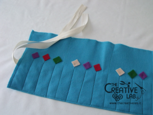 tutorial astuccio arrotolato roller pencil case 24