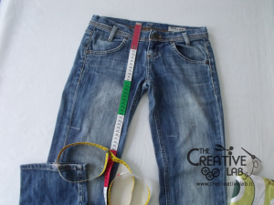 tutorial fare borsa riciclare vecchi jeans 05