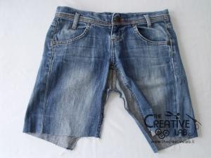 tutorial fare borsa riciclare vecchi jeans 10