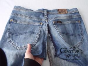 tutorial fare borsa riciclare vecchi jeans 14