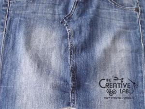 tutorial fare borsa riciclare vecchi jeans 19