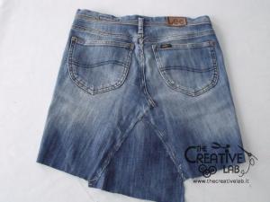 tutorial fare borsa riciclare vecchi jeans 27