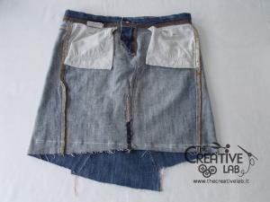 tutorial fare borsa riciclare vecchi jeans 35