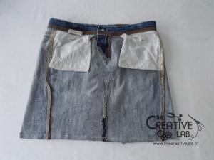 tutorial fare borsa riciclare vecchi jeans 37