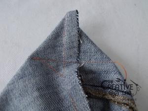 tutorial fare borsa riciclare vecchi jeans 44