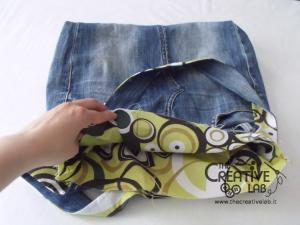 tutorial fare borsa riciclare vecchi jeans 71