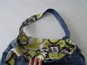 tutorial fare borsa riciclare vecchi jeans 72