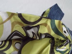 tutorial fare borsa riciclare vecchi jeans 74