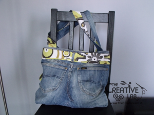 tutorial fare borsa riciclare vecchi jeans 87