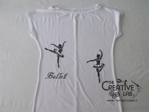 tutorial come decorare t shirt con stencil 36