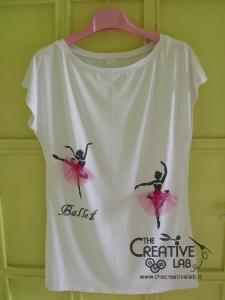 tutorial come decorare t shirt con stencil 45