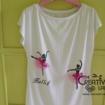 TUTORIAL: come decorare una t-shirt con gli stencil