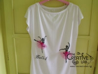 tutorial come decorare t shirt con stencil 47
