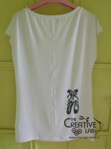 tutorial come decorare t shirt con stencil 48