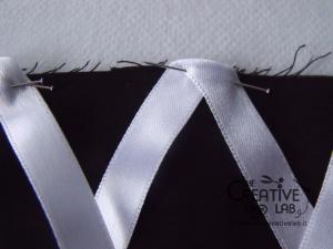 tutorial come fare cuffietta crestina gothic lolita headwear 22