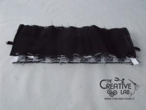 tutorial come fare cuffietta crestina gothic lolita headwear 35