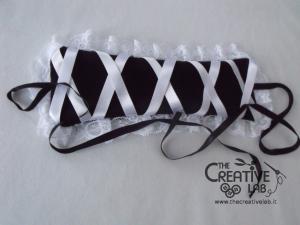 tutorial come fare cuffietta crestina gothic lolita headwear 40