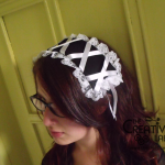 How to make a diy gothic lolita head dress – tutorial