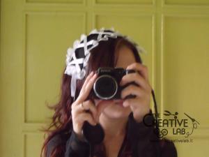 tutorial come fare cuffietta crestina gothic lolita headwear 65