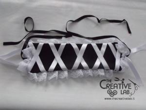 tutorial come fare cuffietta crestina gothic lolita headwear 66