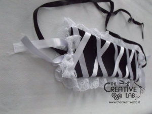 tutorial come fare cuffietta crestina gothic lolita headwear 69
