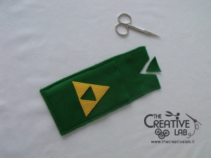 tutorial come fare portacellulare feltro link the legend of zelda 23