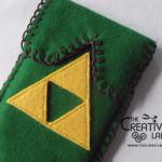 """TUTORIAL: come realizzare un portacellulare in feltro ispirato a """"The legend of Zelda"""""""