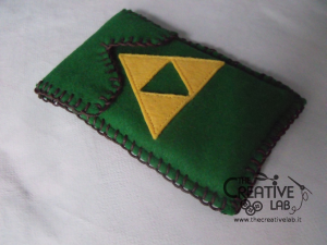 tutorial come fare portacellulare feltro link the legend of zelda 32
