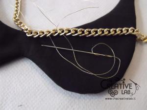 tutorial come realizzare colletto gioiello peter pan diy 14