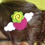 TUTORIAL: come fare un fermaglio per capelli ispirato a Happy Berry di Gokinjo Monogatari
