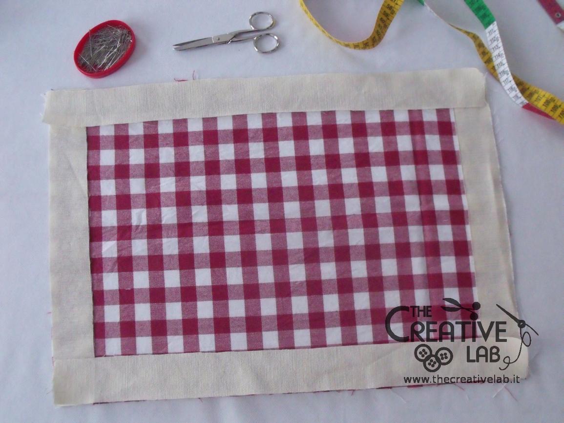 Tovagliette Americane Fai Da Te.How To Make Diy Placemats Tutorial The Creative Lab