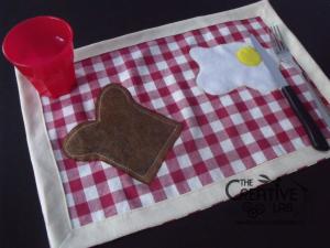 come fare tovagliette americana colazione tutorial fai da te