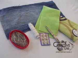 come fare portafoglio portatessere di stoffa tutorial 01