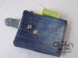come fare portafoglio portatessere di stoffa tutorial 51