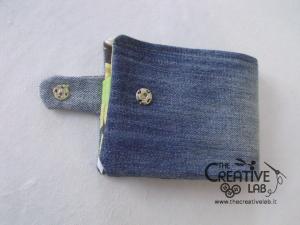 come fare portafoglio portatessere di stoffa tutorial 54