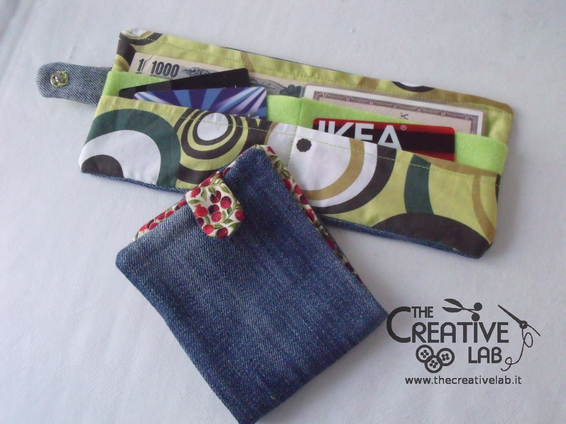 Extrêmement Come fare un portafoglio di stoffa – tutorial – The creative lab KI32