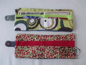 come fare portafoglio portatessere di stoffa tutorial 64
