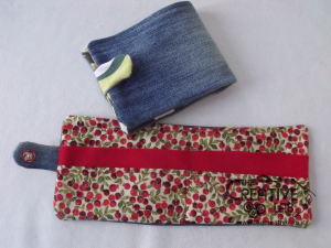 come fare portafoglio portatessere di stoffa tutorial 65
