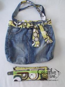come fare portafoglio portatessere di stoffa tutorial 74