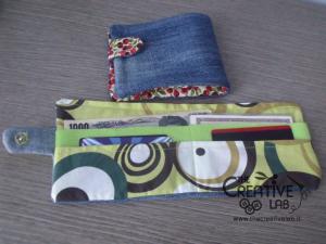 come fare portafoglio portatessere di stoffa tutorial 84