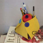 How to make a diy felt pen holder for desk – tutorial