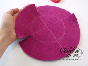 tutorial diy felt basket jewelry case 17