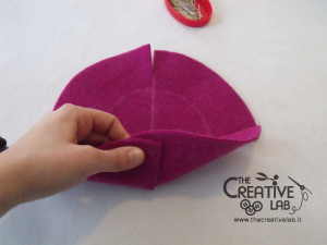 tutorial diy felt basket jewelry case 22