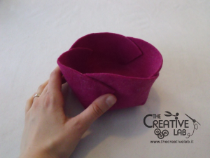 tutorial diy felt basket jewelry case 34